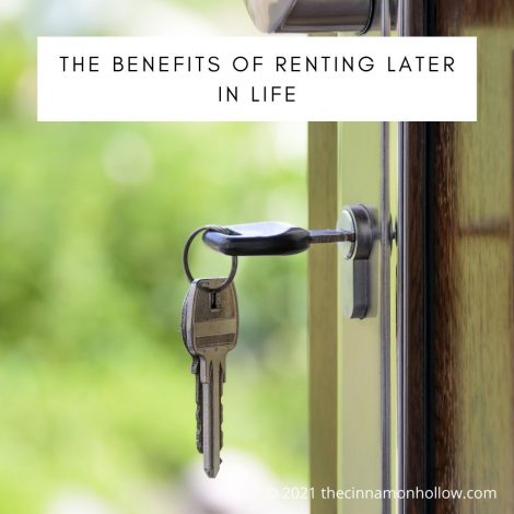 The Benefits Of Renting Later In Life
