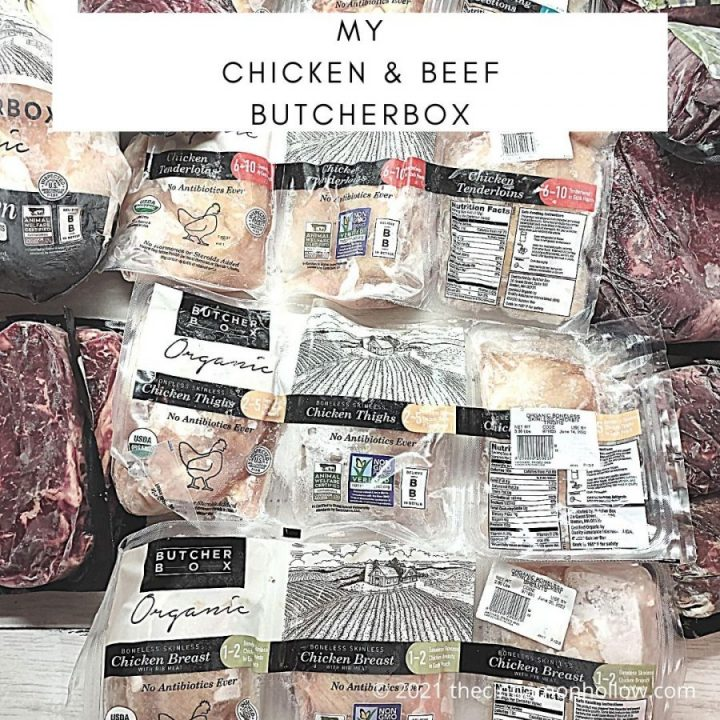 My Chicken And Beef ButcherBox
