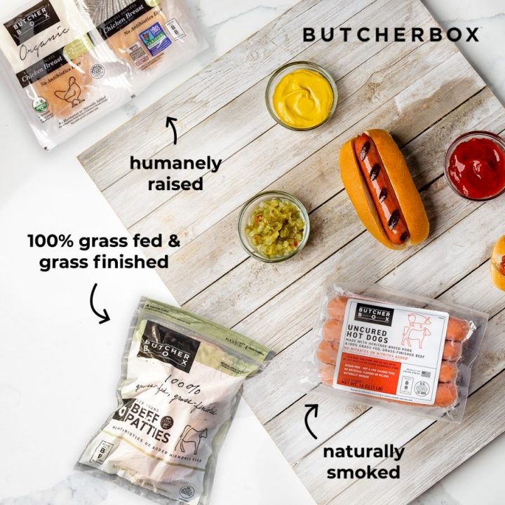 ButcherBox Free Chicken, Burgers And Hot Dogs