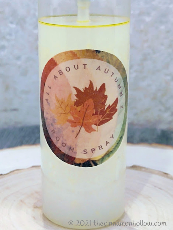 All About Autumn 2 Room Spray