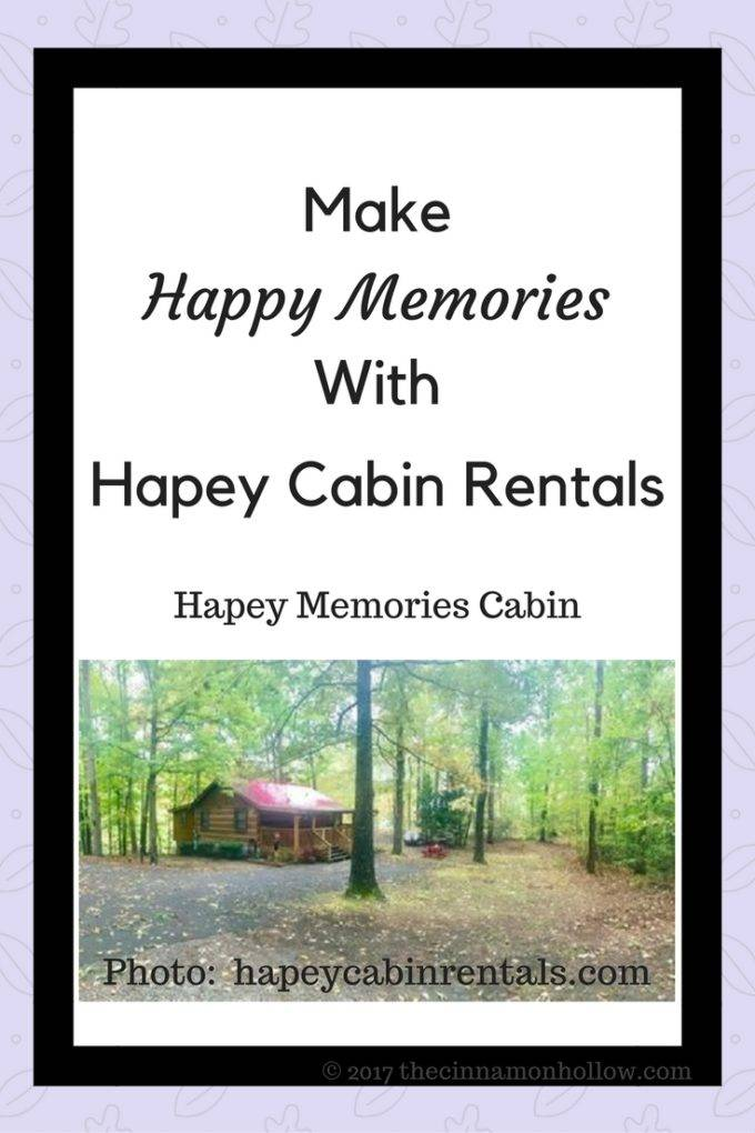 Make Happy Memories With Hapey Cabin Rentals