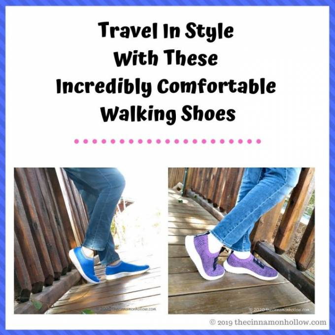 Travel In Style With These Incredibly Comfortable Walking Shoes