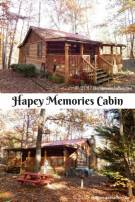 Check Out Our Weekend Getaway At Hapey Memories Cabin!