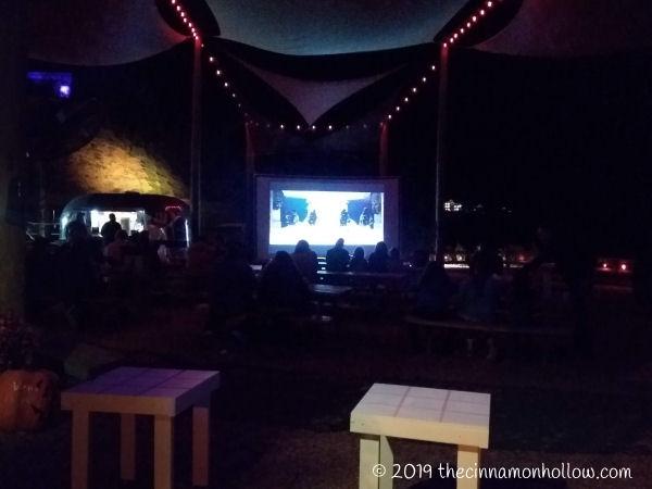 Anakeesta Amphitheater Nighttime