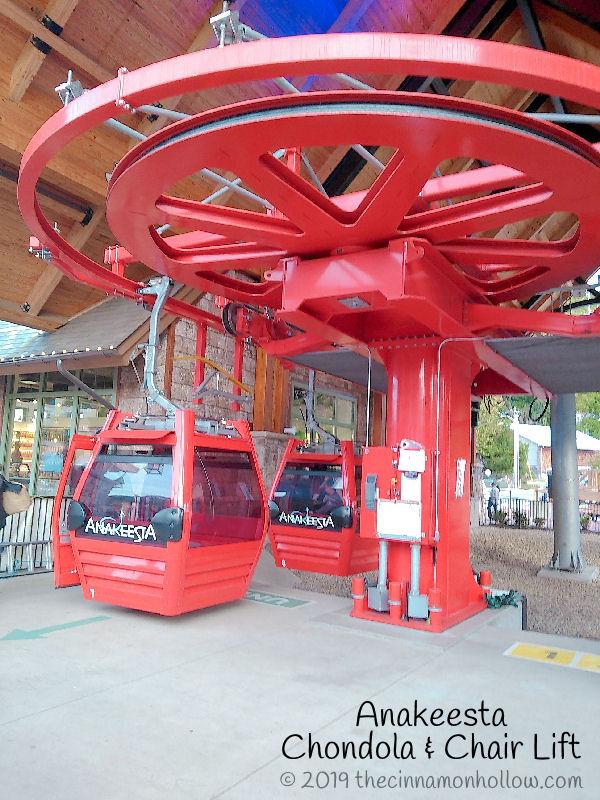 Anakeesta Chondola Cabin & Chair Lift